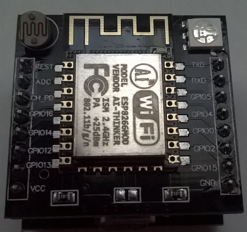 front of top PCB