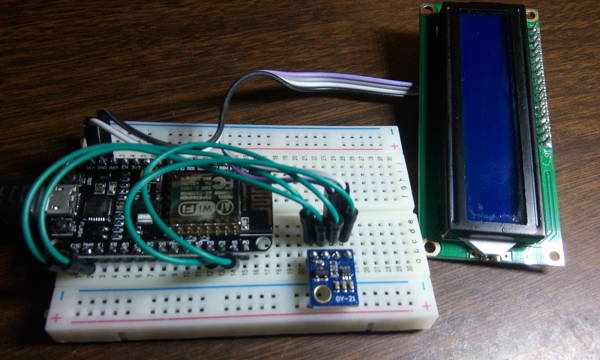 HTU21D on I2C bus of ESP8266