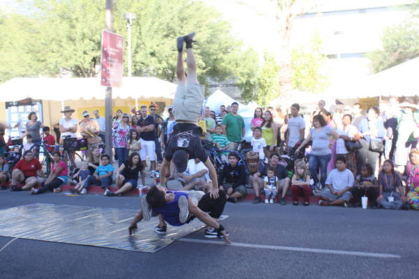 street dance at Tucson Meet Yourself 2012