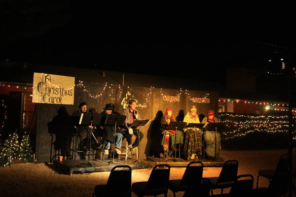 A Christmas Carol at Winterhaven Festival of Lights 2015