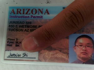 Arizona instruction permit