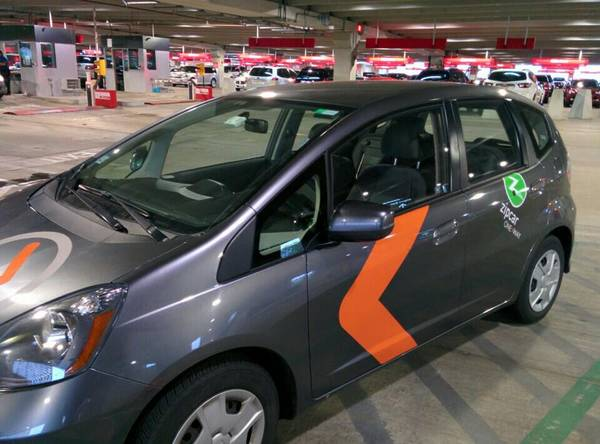 Zipcar ONE>WAY Honda Fit Twyla