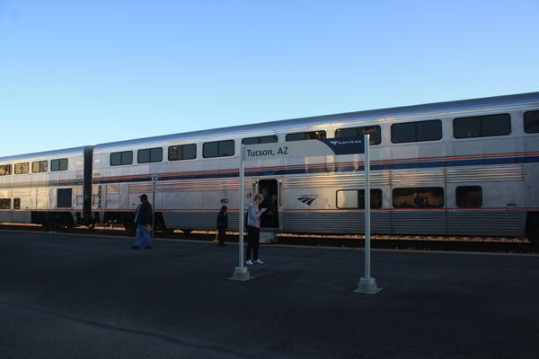Sunset Limited at Tucson