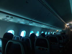 Dreamliner windows at low opacity