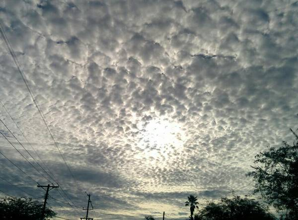 clouds on Aug 30, 2015