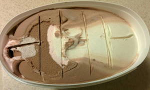 ice cream portion control