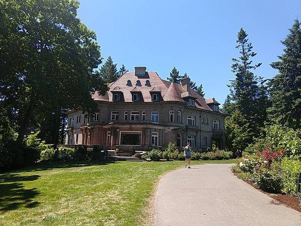 Pittock Mansion - exterior
