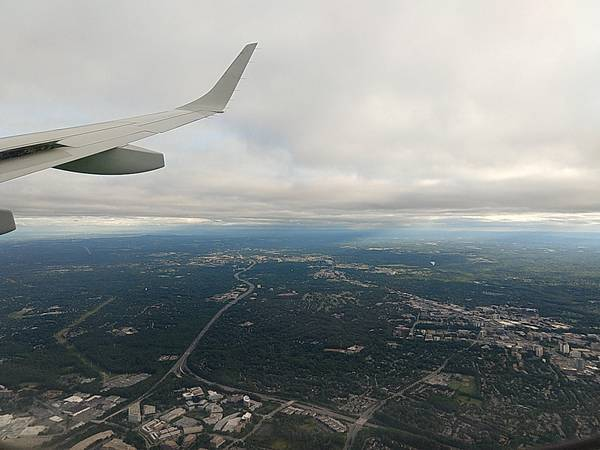 I-270 seen from air