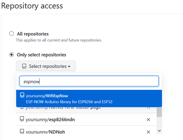 GitHub Apps - repository access